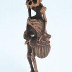 Ippachi skeleton netsuke