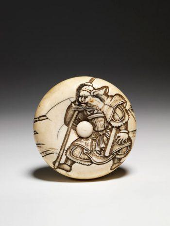 Manju of Chinese warrior Liu Bei - Genshu