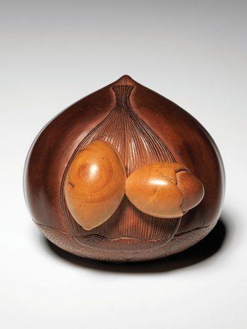 Shigemasa - chestnut netsuke