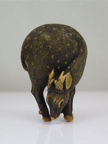 Raku – Model of standing deer