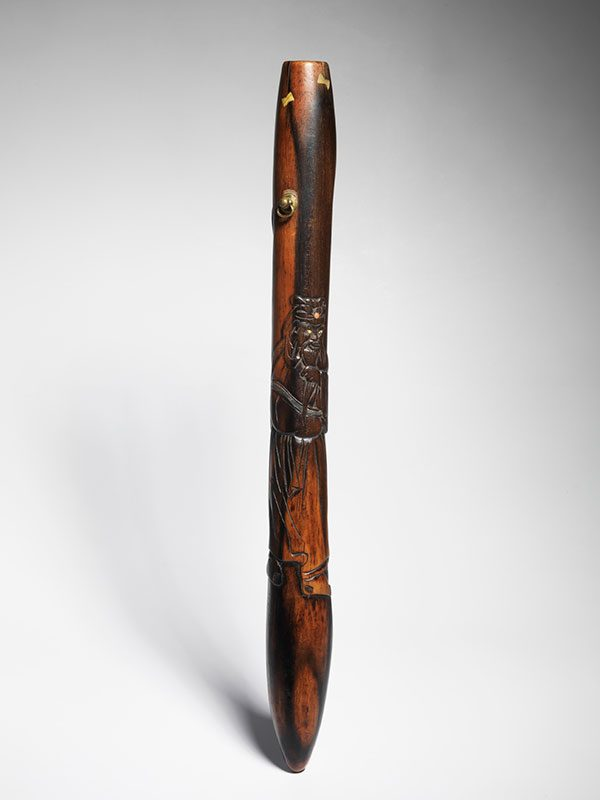 wood pipecase of senryuzutsu form