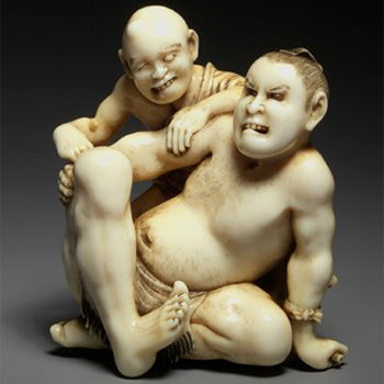 SUMO NETSUKE and OKIMONO featuring a selection from the Karl-Ludwig Kley collection